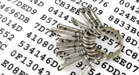 keys-sheet-encrypted-data-173185962