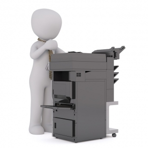 Cleaning printer